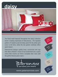Complement your Patersonrose linen with Resene paint and colours