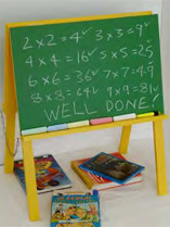 Make and paint a blackboard
