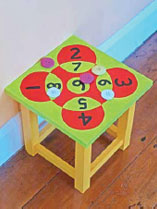 Turn an old wooden
