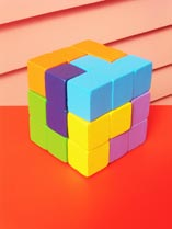 Make a cube puzzle