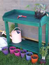 How to make a potting table