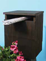 Make a plywood mailbox
