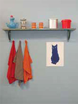 How to make a kitchen shelf