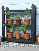 How to make a strawberry plant stand