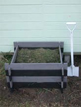 Transform a humble wooden compost bin into a stylish garden feature