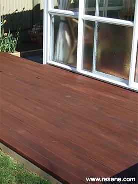 Resene Kwila Timber Stain Rejuvenates A Tired Deck Ways