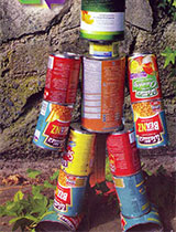 Create a tin can man