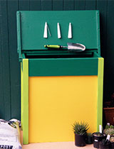 How to make a potting bin