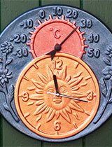 How to make a terracotta clock