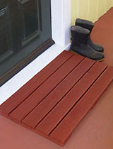 Make a all-weather doormat