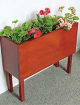 How to make an indoor plant stand