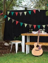 How to make festive bunting