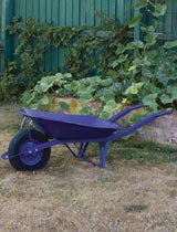 How to revamp an old rusty wheelbarrow