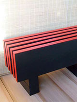 How to make a Japanese-style bench