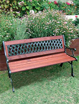 How to beautify an old bench