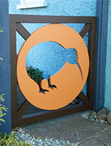 How to make a kiwi garden gate