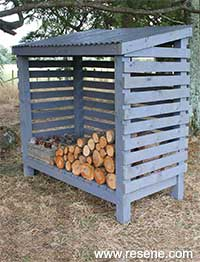 How To Build A Wood Shed A Kiwi Gardener Project