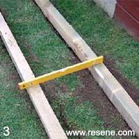 Build A Wooden Walkway A Kiwi Gardener Project