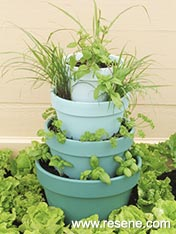 Build stackable herb planter
