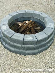 Build an fire pit or coffee table