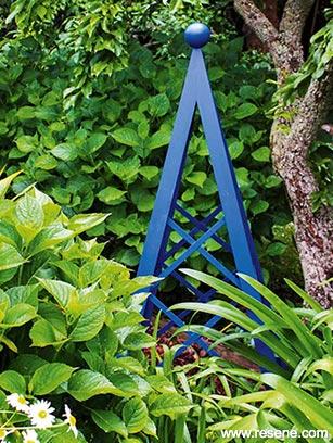 Garden Obelisk Climbing Frame A Nz Gardener Project