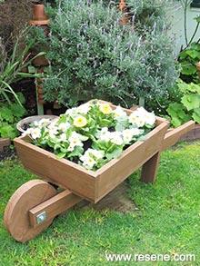 Wheelbarrow Planter Great For The Garden A Kiwi