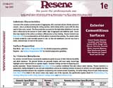 Data Sheets/One-Line Specifications for Resene paints and products