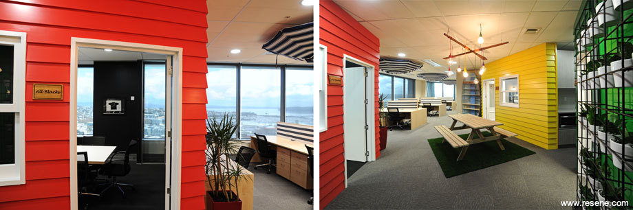 google office products. in both of the smaller meeting rooms main walls have floor to ceiling areas finished resene writeon wall paint all window trims traditional google office products u