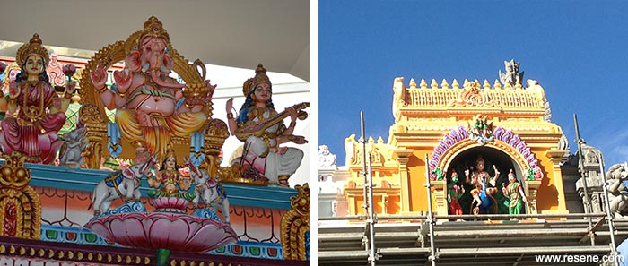 Coming together with colour - Sri Selva Vinaykar Temple