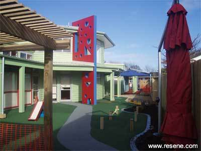 Kiwicare Pre School in Papatoetoe Used Resene Paint