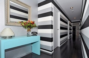 Spare a thought for striped wallpaper | Decorating, Paint and Colour News