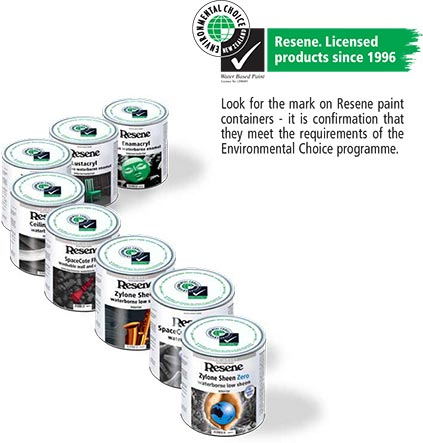 Look for the Environmental Choice Approved logo
