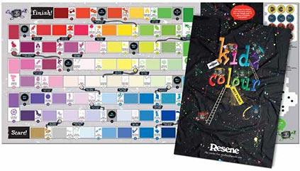 Resene KidzColour paint chart