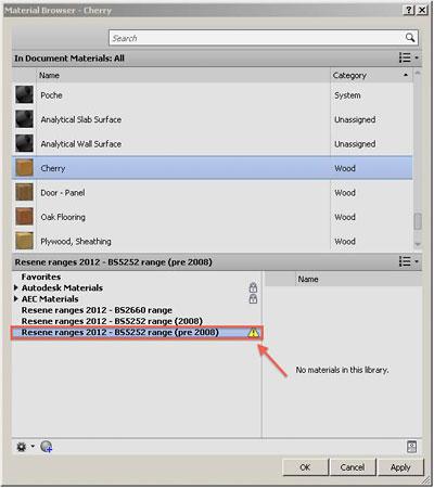 BIM Revit colour files of Resene paint colours