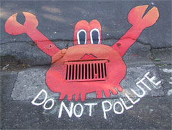 Paint The Drains Decorating Stormwater Drains