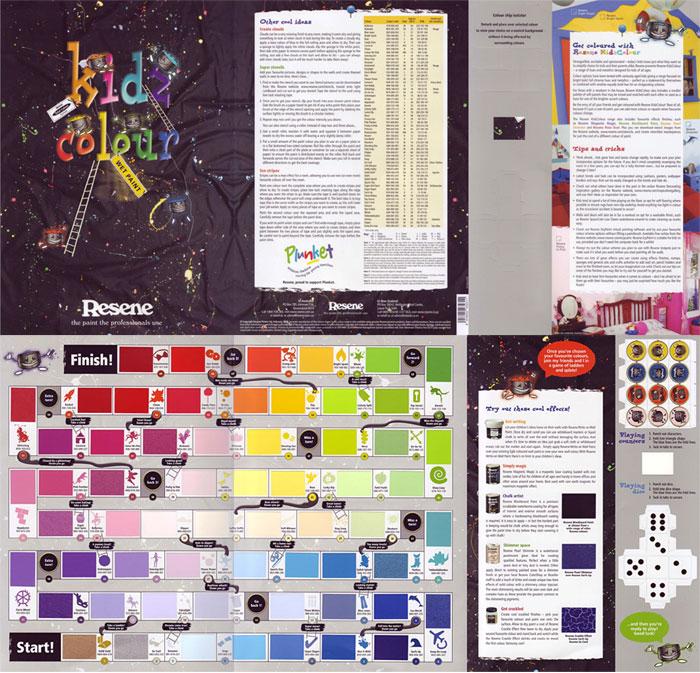 Resene Paints Ltd - Resene KidzColour Chart