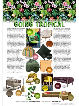 Going tropical - tropical style