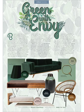 Green with envy - bring the outside in