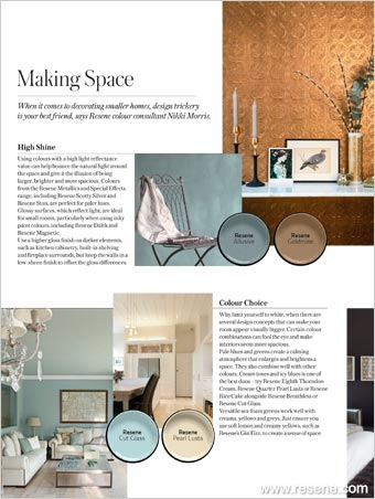 Making Space - decorating smaller homes