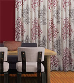 Resene Coral Curtains