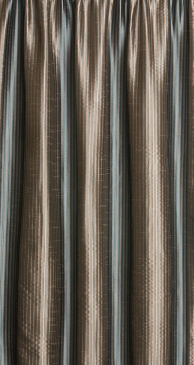 Mecca Curtains Contemporary Stripes Silk Effect