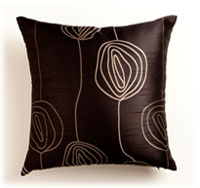 Resene Diva Ebony cushion