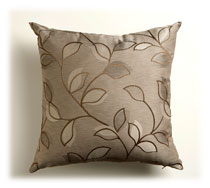 Resene Metaphor Mocha cushion