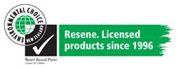 Resene Paints are New Zealand Environmental Choice Licensed