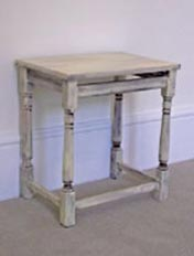 Paint a distressed table