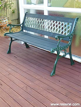 Transform An Old Garden Bench Fun With Furniture Project 30