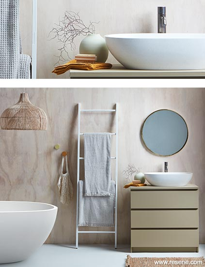 Washed In Whitewash Trendy Scandi Cool Room Colour