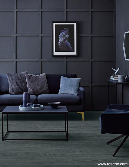 Twilight Zone dark living | Colour inspiration