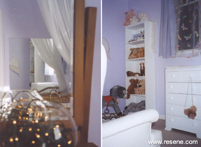 Restful lilac paint for a baby 39 s bedroom colour schemes - Lilac color paint bedroom ...
