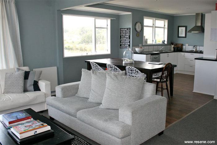 A calming colour scheme for Room decor nz